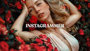 Instagram efects. LUT color grading effects for Instagram