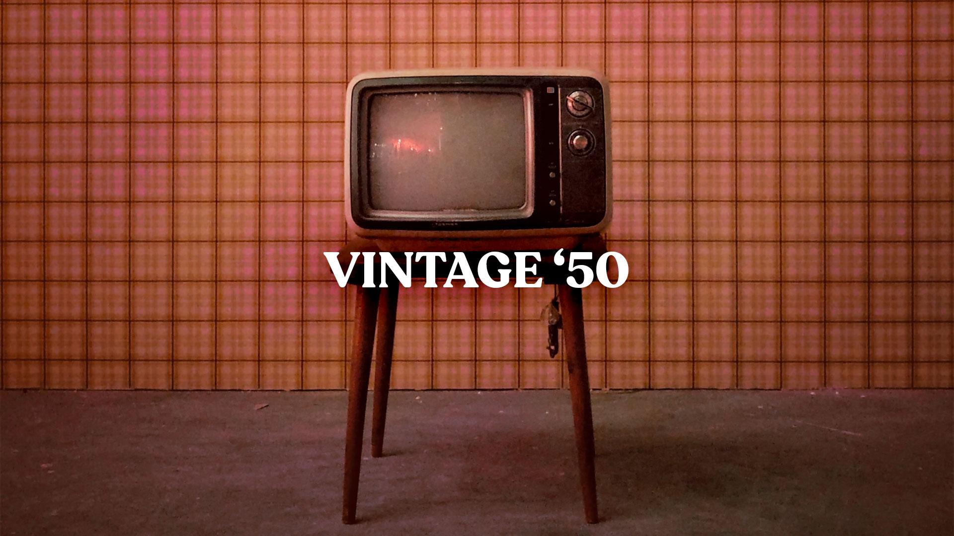 Vintage 1950 LUT presets